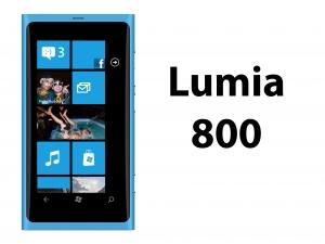 Lumia 800 reparation
